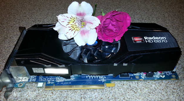 May the Radeon HD 6870 rest in pieces...